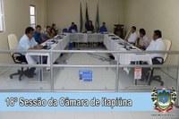 8º Sessão da Câmara de Itapiúna
