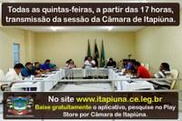 Câmara de Itapiúna lança aplicativo para celular