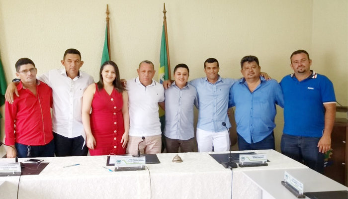 Nova Mesa diretora é empossada na Câmara Municipal de Itapiúna